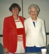 Carol Mills & Sallie Powell