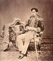 Emporer Meiji who ascended to the throne in 1868