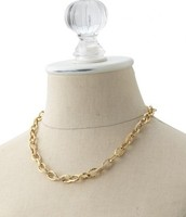 Christina link necklace $30
