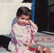 Malala as a young girl