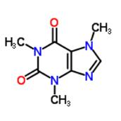 Caffeine's Molecular Structure