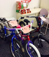 Bikes for were delivered