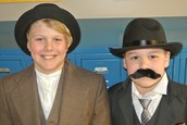 Andrew Carnegie & Milton Hershey