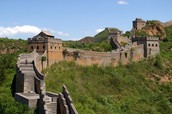 A cool fact about Asia is that The Great Wall of China is very long. Also, people can walk on it.