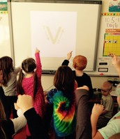 Write a Lowercase v in the Air!