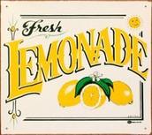 We sell the best lemonade in town!