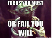 Advice from Yoda!