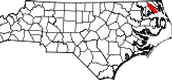 Where is Pasquotank County located and when was it founded?