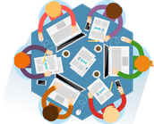 Las funciones de la Gestión Información abarcarían desde:
