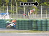 Crashing a Motorcycle