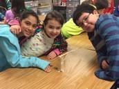Mrs. Sas' class enjoying problem-solving through STEM