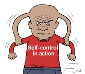 Recent studies have shown people with higher self control are happier.