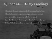How long was D-DAY ?