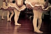 Cuando yo era joven bailaba ballet.