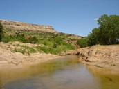 The Palo Duro Canyon