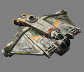 This is the rebels ship, the Ghost