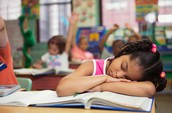 31% of school aged children are sleep deprived