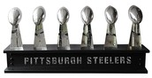6 Super Bowl trophies in the Franchise of the Team