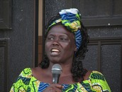Wangari Maathai speaking