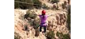 Zip Lining at Palo Duro Canyon State Park.