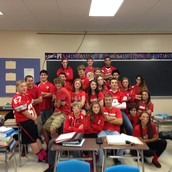 Red Out Spirit Day