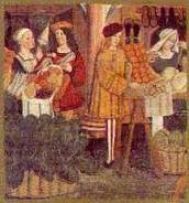 Pilt keskaja kaupmeestest