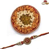 Rakhi with 500 Gms Mix Dryfruits