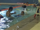 """Our """"school"""" is SWIMMING!"""