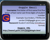 Gaggle Log in Information