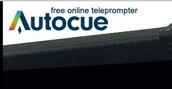 Autocue- Online Tele- prompter