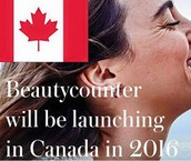 Beautycounter IS coming to Canada!
