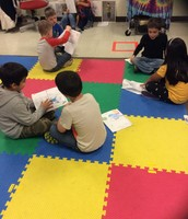 Reading with Mrs. Fahrman's Class