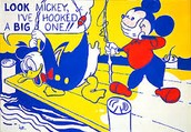 Look Mickey - Roy Lichtenstein