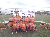 Fall Ball - 04 Boys Orange (Champions)