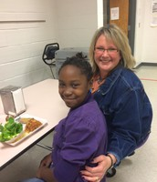 Over 100 BRIGHTfutures Lunch Buddies