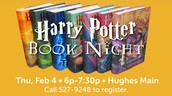 Harry Potter Night at the Greenville Public Library!
