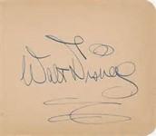 8. Walt's signature