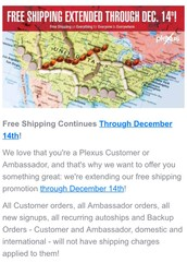 Free Shipping Extended through Dec. 14th!