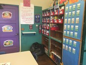NCES Leveled Library Book Room