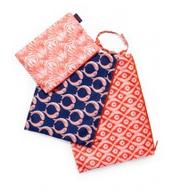 Zippy pouch trio-original $24, sale $15