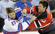 The Typical Hockey Fight