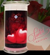 CANDLES AND TARTS AND SOON COMING, BEADS!!!