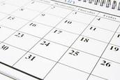 PK schedule
