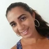 Anezea Nunes - voluntária em Santa Cruz