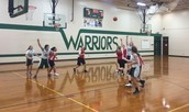Junior Warrior Girls Basketball Finishes With a Big Win!