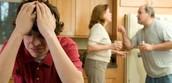 As consequências das crises familiares