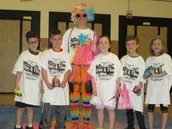 Getting Ready for the HSA Color Run!