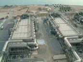 this is a small portion of the water desalination plant in california