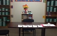 Parent Center!  Come check out the awesome resources to help your student!