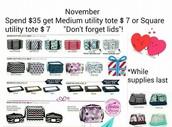 November's special!